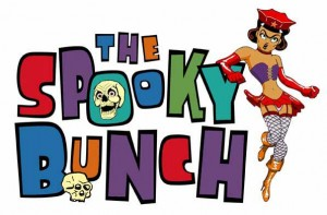 Logo from The Spooky Bunch, a problematic 1970s cartoon series.