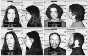 August 8, 1969: Connie McCormack, Shep Shepheard, Nancy Bacar and cult leader Ken Kerman arrested.